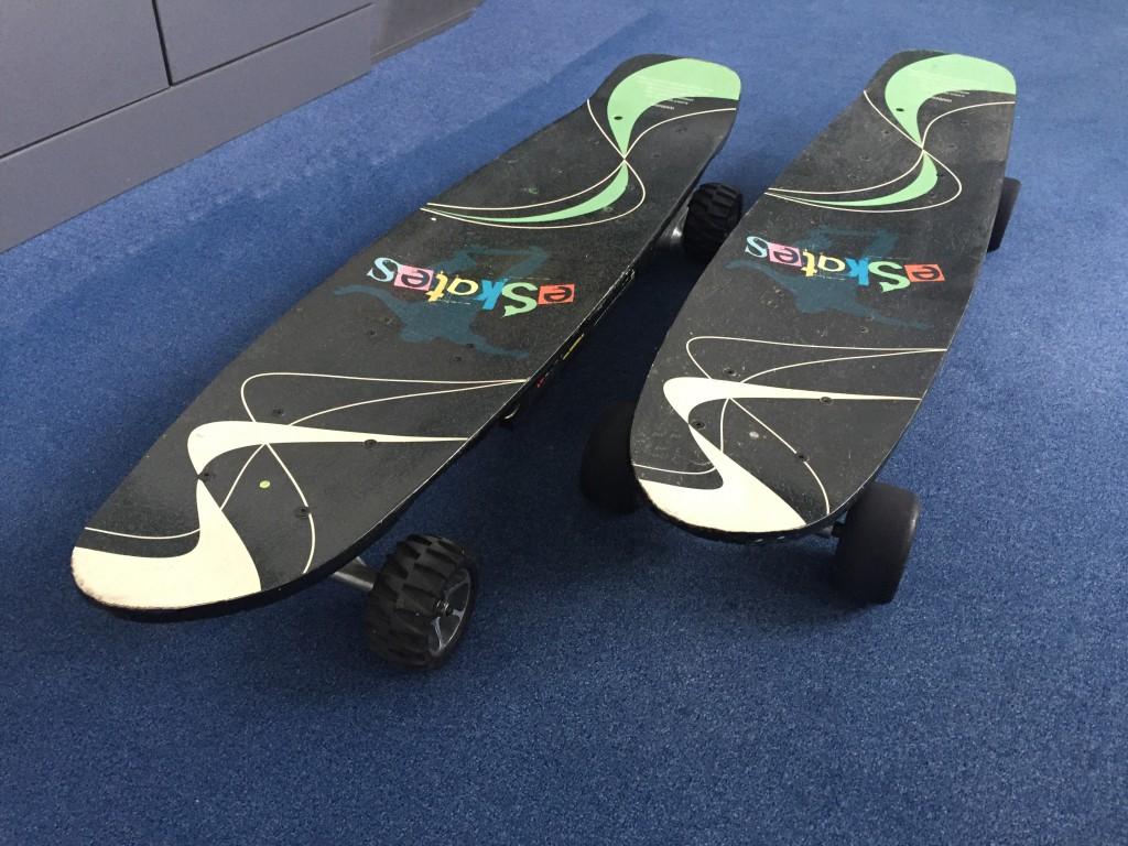 Elektro-Skateboards mieten