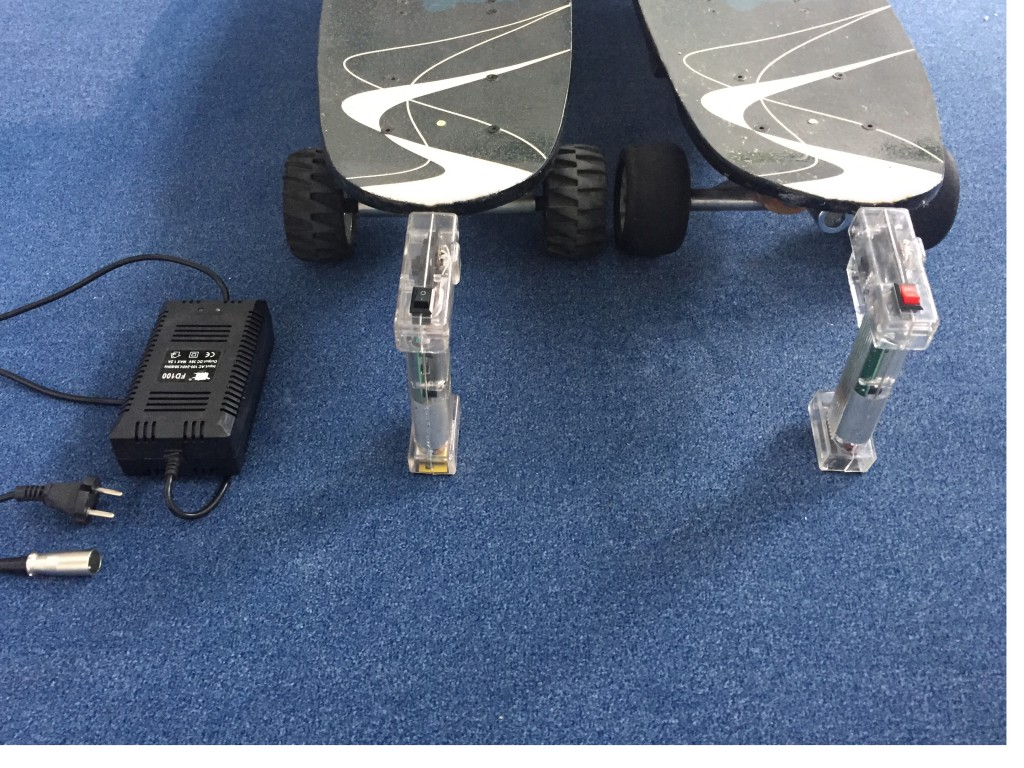 Elektrolongboard mit Fernbedienung