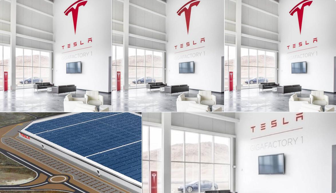 TESLA Gigafactory erste Fotos von James Lipman (c) https://www.instagram.com/jameslipman/