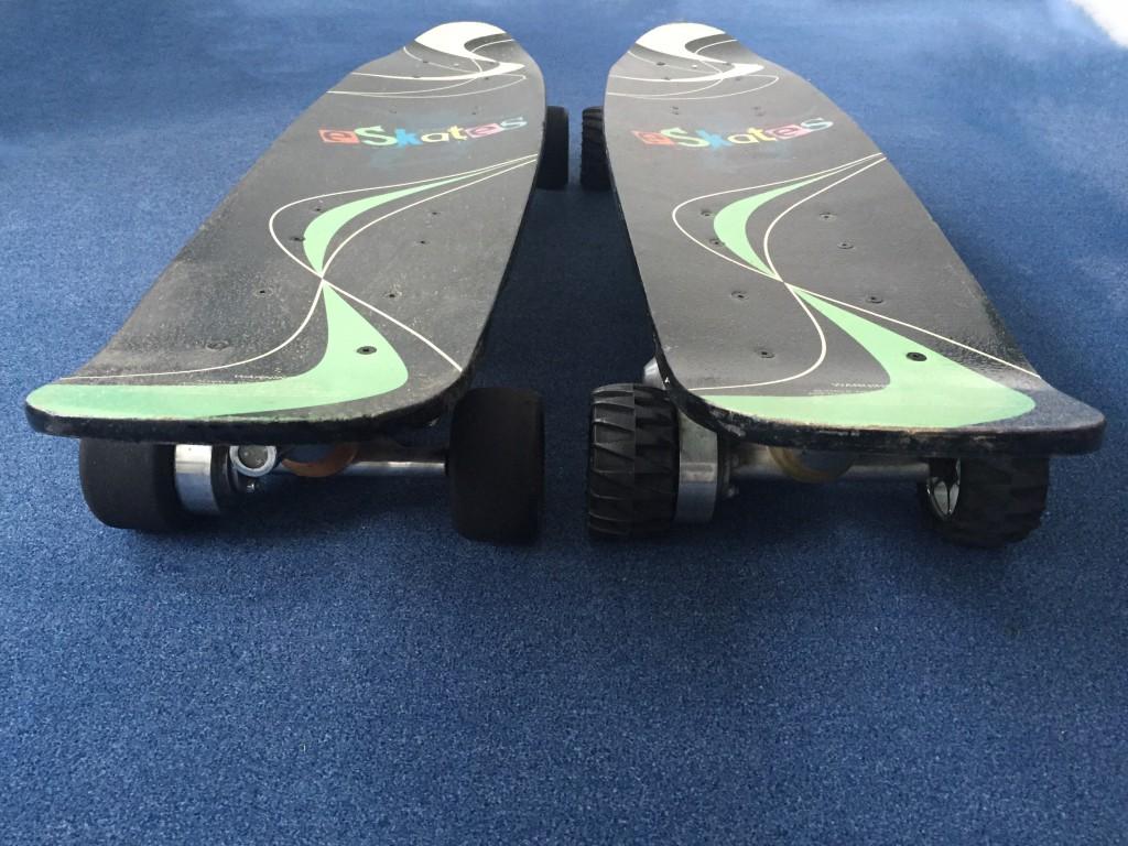 E-Skateboards von eSkates
