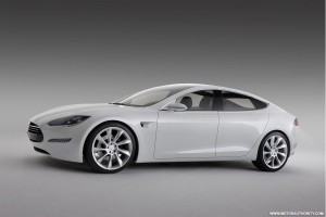 Tesla Model S Pusher