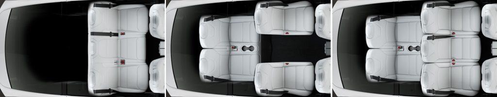Sitze Model X